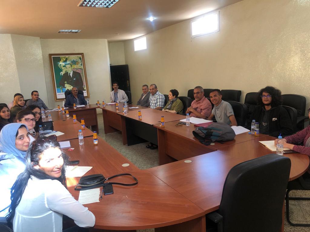 Réunion avec le Président du conseil communal de l'Argoube